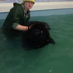 Tayla swimming